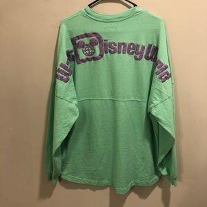Walt Disney world spirit jersey sea shell green